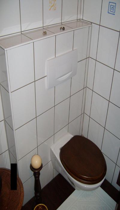 Wandhänge WC im Bestand